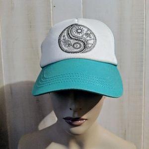 BILLABONG Yin Yang Peace symbol  cap snapback